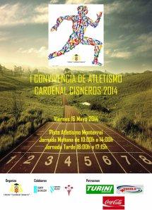 IConvivencia Atletismo Cisneros 2014