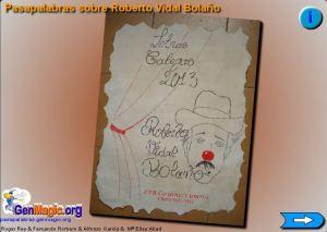 Portada pasapalabra Vidal Bolaño