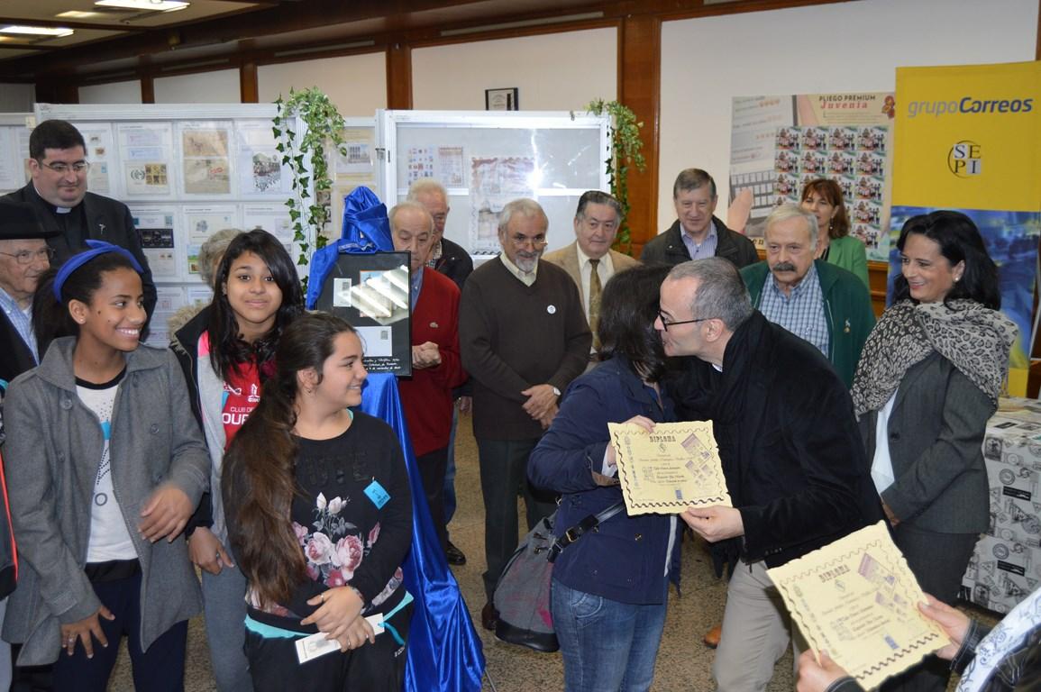 Filatelia cardenal cisneros ourense for Oficina correos ourense