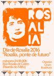 Cartel Día de Rosalía 2016