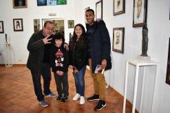 Con MIguel Blanes