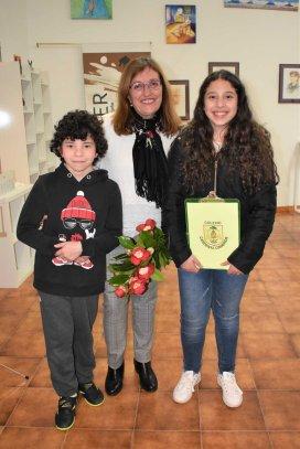 Con María Glez.